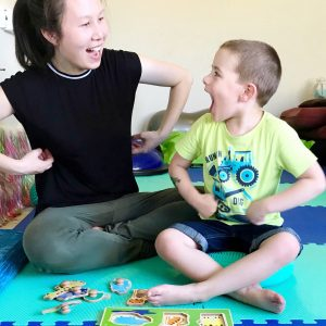 Play therapy for children